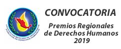 Convocatoria Premios regionales de derechos humanos