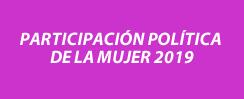 Participación política de la mujer 2019