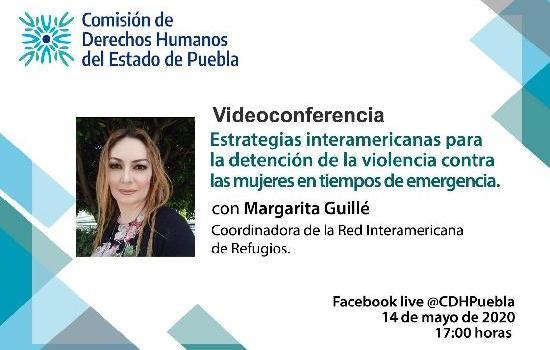 Videoconferencia con Margarita Guillé
