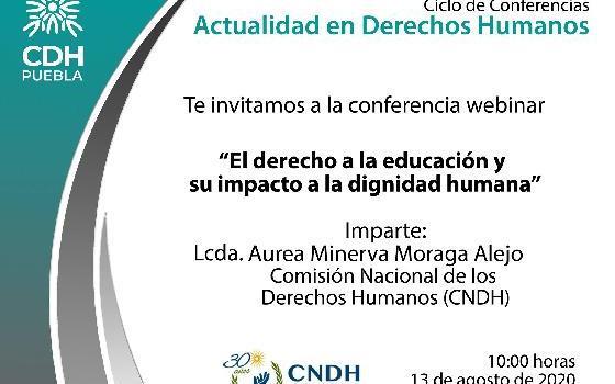 El Derecho a la Educación y su Impacto a la Dignidad…