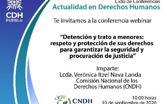 Detención y trato a menores: respeto y protección…