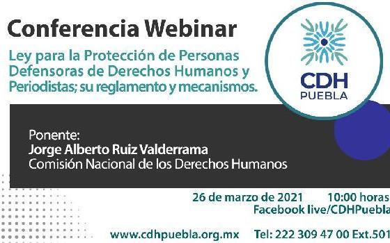 Ley para la protección de personas defensoras de Derechos…